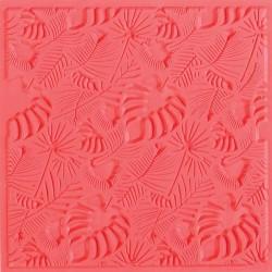 Tapis de texture 9x9cm - feuillage