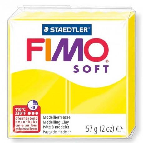 Pâte Fimo Soft citron 57gr