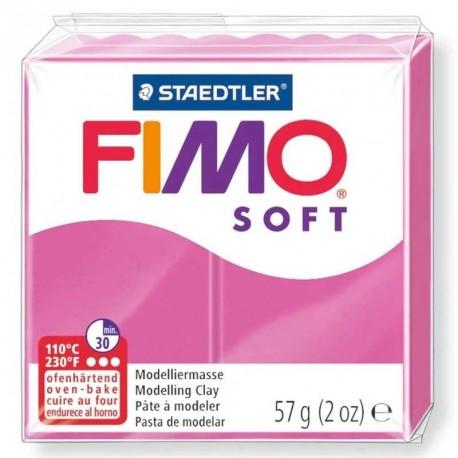 Pâte Fimo Soft framboise 57g