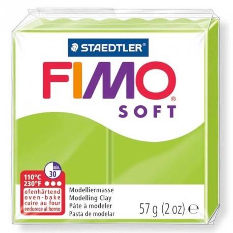Pâte Fimo Soft vert pomme 57g