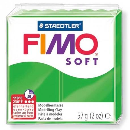 Pâte Fimo Soft vert tropical 57g