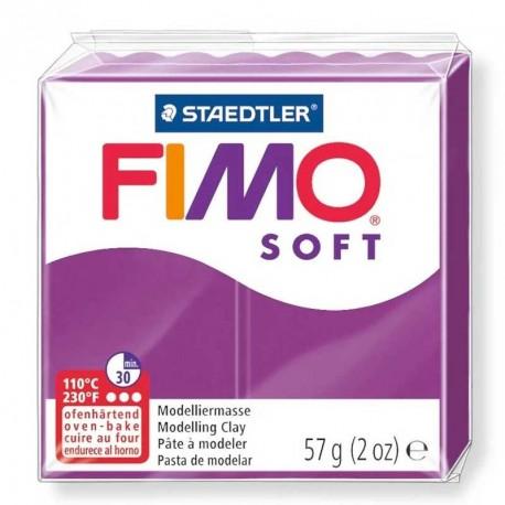 Pâte Fimo Soft pourpre 57g