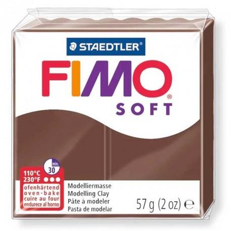 Pâte Fimo Soft chocolat 57g