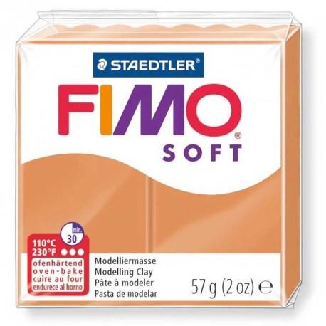 Pâte Fimo Soft cognac 57g
