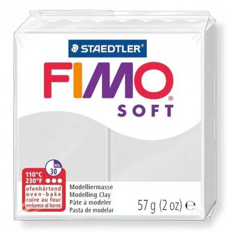 Pâte Fimo Soft gris dauphin 57g