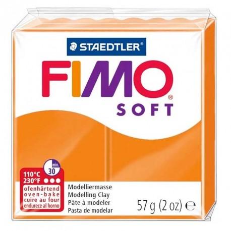 Pâte Fimo Soft mandarine 57g