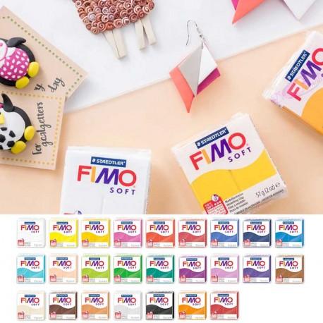Pâte Fimo Soft blanche 57gr