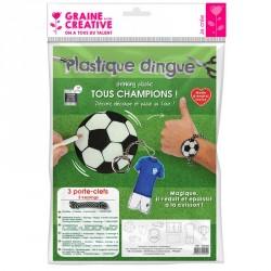 Kit plastique dingue football
