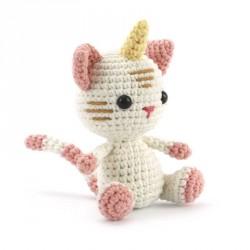 Kit crochet chat-licorne