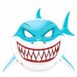 6 masques Requin en carton à décorer
