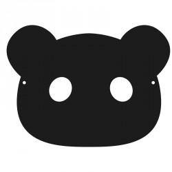 Sachet de 3 masques à gratter animaux