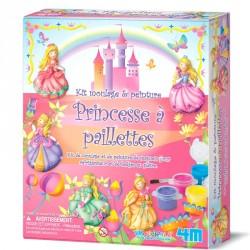 Kit moulage et peinture Princesse
