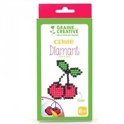 Kit Diamond Mosaïque stickers Cerise