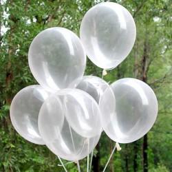 100 ballons transparents 30cm