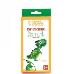 Kit diamond mosaïque stikers Dinosaure