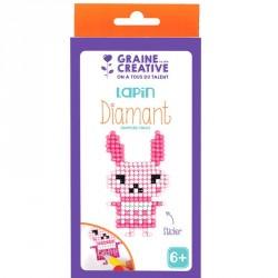Kit diamond mosaïque stickers Lapin