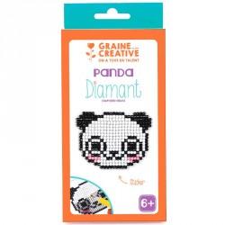 Kit diamond mosaïque stickers Panda