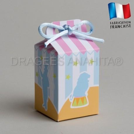 emballage à dragées chapiteau
