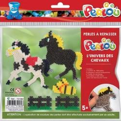 Kit de perles à repasser chevaux