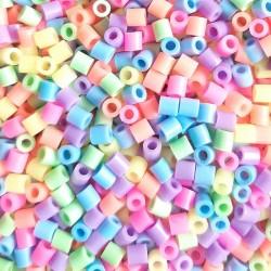 3000 perles à repasser fluo