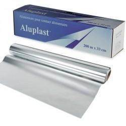 Rouleaux Aluminium 200m x 33cm boîte distributrice