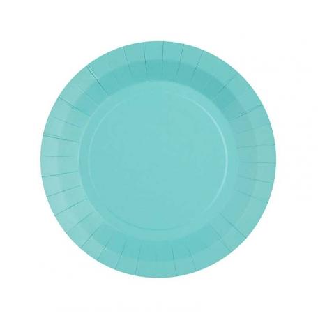 Petite assiette en carton Cielbiodégradable