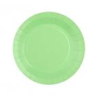 Petite assiette en carton Mint biodégradable