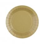 Petite assiette en carton Kraft biodégradable