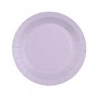 Petite assiette en carton Lilas biodégradable