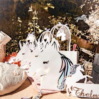 4 Sacs cadeaux Licorne