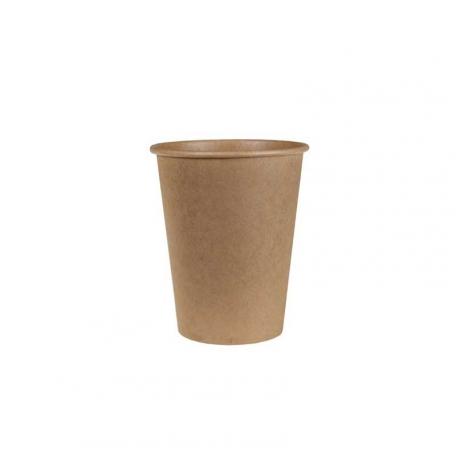 50 petits gobelets à café en kraft 10/12 cl