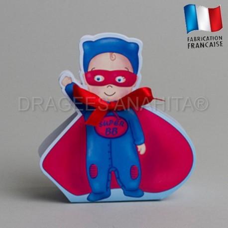 ballotin à dragées super héros