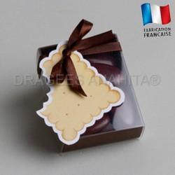 fourreau à dragées biscuit
