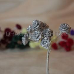 Petite Rose Argenté