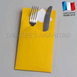 pochette couvert jaune