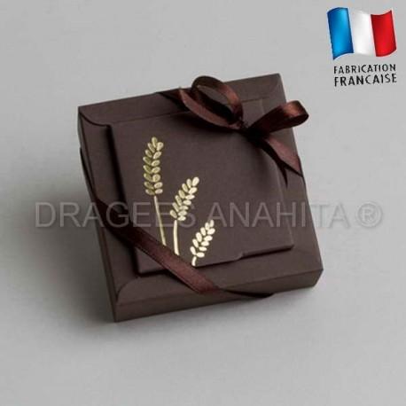 emballage dragées communion chocolat