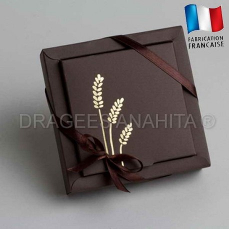 ballotin dragées communion chocolat