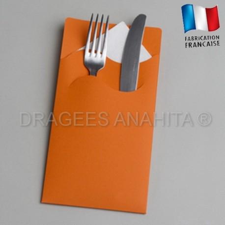pochette couvert orange