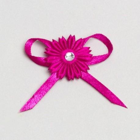 fleur fuchsia décoration mariage