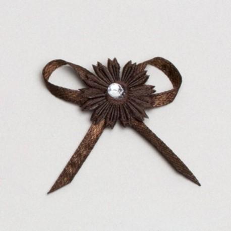 fleur noir décoration mariage