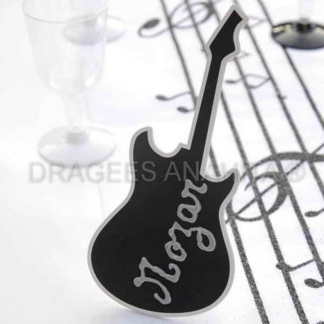 Centre de table thème musique