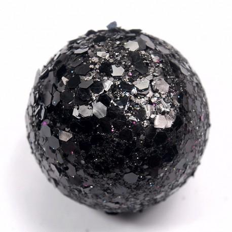 Boule paillette Noir