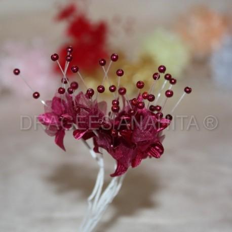 Fleur Perle Bordeaux