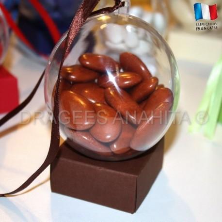 Support à dragées chocolat