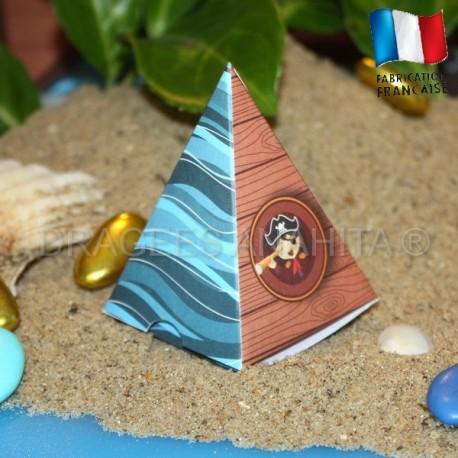 Pyramide à dragées petit pirate