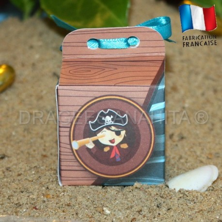 Cube à dragées petit pirate