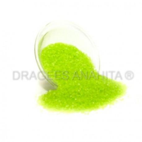 Sucre coloré Vert