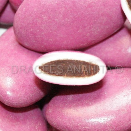 Dragées chocolat prune 1Kg