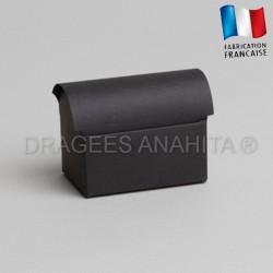 Mini coffre à dragées noir