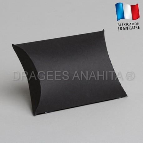 Pochette pour dragées noir